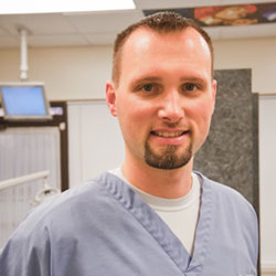 Dentists In Lakewood, Ohio, Hygienist Eric Picture - Greg Devor DDS